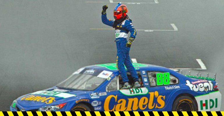 Rubén García Jr asume el liderato de NASCAR México