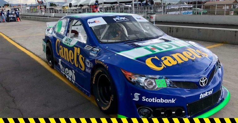 Rubén García Jr. y Héctor Aguirre arrancarán 3 y 7 en NASCAR Puebla