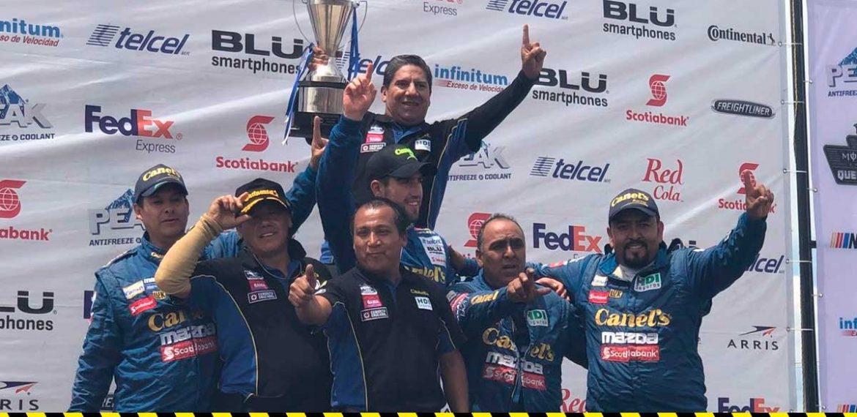 Rubén García Jr. repite victoria en el Nascar Peak