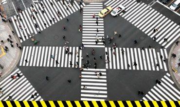 Nuevo cruce peatonal al estilo Tokio en la CDMX
