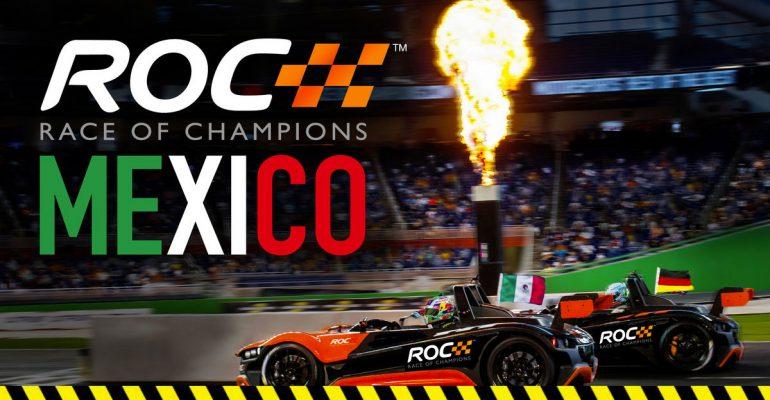 México, primer país latino en ser sede de Race of Champions